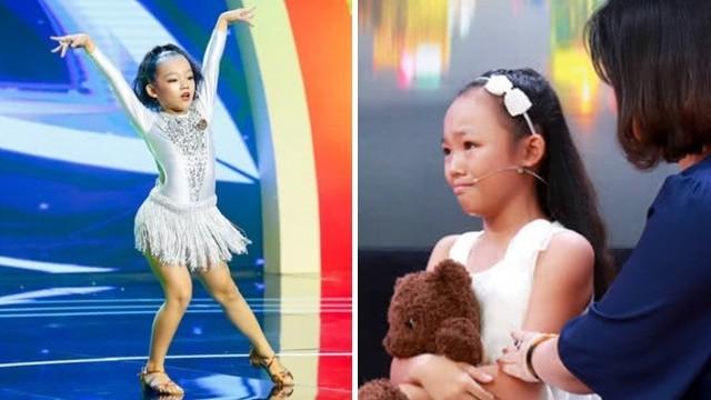 被媽媽打到想自殺!12歲舞蹈冠軍上節目說真心話,舞衣遮藏棍棒傷痕