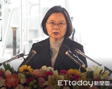 國民黨抗議卻動粗 蔡英文批陳宜民「樓梯推女警」:應該道歉!