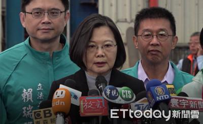 謝龍介賭雞排 蔡英文:民主不能用雞排決定