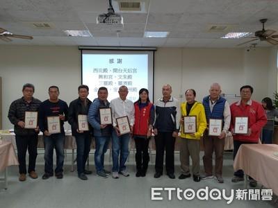 安平區公所與宮廟簽發電機支援