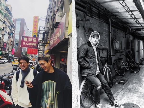 ▲《家師傅》李相侖3帥男星街拍照 背後一看網笑了:在台灣齁?。(圖/翻攝自lee_kiwoo、_kwon_sung_min_ IG)