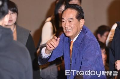 宋:台灣有總統選舉 我功勞最大