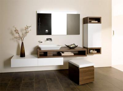 空間太小? 15個創意浴室讓你省空間
