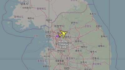 美軍2架偵察機飛臨朝鮮半島