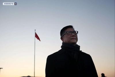 鄧炳強天安門看升旗:感受國家強大