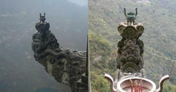 位在武當山上,號稱「天下第一香」的龍頭香。(圖/翻攝自百度百科、維基百科)