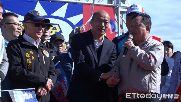 ▲▼韓國瑜苗栗行程,出席韓國瑜徐志榮聯合總部成立大會。(圖/記者張榮恩攝)