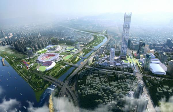 ▲▼現代金融商業中心預計於2026年完工(圖/翻攝自首爾市政府)