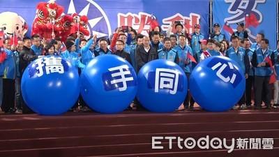 韓國瑜:蔡英文連任將會「慘慘慘慘」