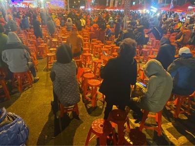 抵韓國瑜新竹造勢 四叉貓:約4000人