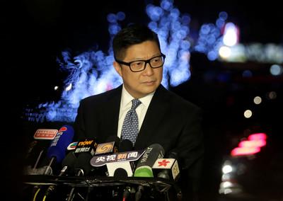 鄧炳強:近7個月拘7019人!