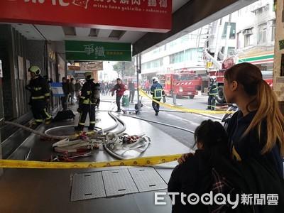 即/北市萬華西門商圈燒肉店火警