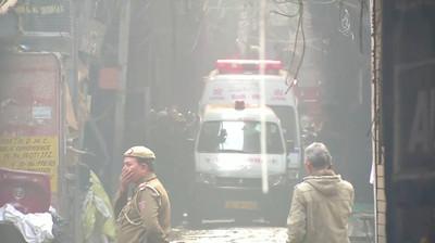 印度清晨大火「多人受困」43死