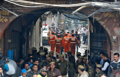 1997年來最嚴重 印度工廠大火43死