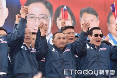 侯友宜致詞10分鐘僅提1次「支持韓國瑜」