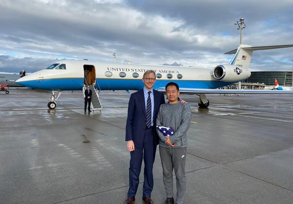 ▲▼華裔美國學者王夕越遭伊朗囚禁,2019年12月7日被釋放。(圖/達志影像/美聯社)
