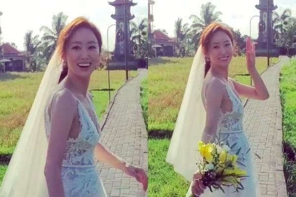 ▲▼「李準基前女友」全慧彬在峇厘島完婚。(圖/翻攝自IG)