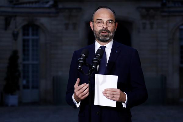 ▲法國總理菲利普(Édouard Philippe)。(圖/路透)