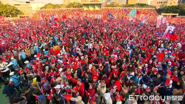 ▲▼韓國瑜新北市競選總部成立造勢大會。(圖/ETtoday攝影中心攝)
