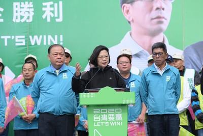 蔡英文:澎湖去年敗選 但中央支持只有增沒有減