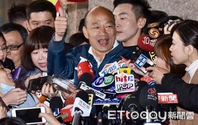 韓:不接受蔡英文指定綠媒辦辯論