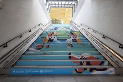 新竹動物園將回歸!地下道彩繪暖身