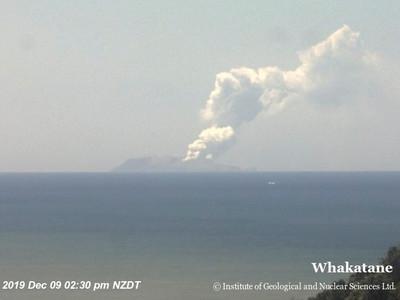 懷特島火山爆發「多人失蹤」1死