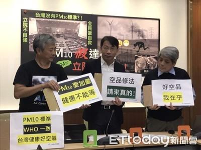 台灣PM10標準20年未修!環團狠批落後WHO
