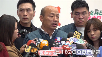 民進黨喊顧主權 韓:無聊的廢話!
