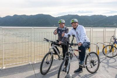 北桃合作 打造65公里追風自行車道