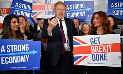 英國明大選 強生領先優勢減少