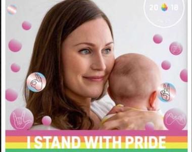 芬蘭最年輕總理出爐:曬彩虹照挺同志母