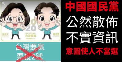 蔡賴配投2號? 基進黨10日提告國民黨