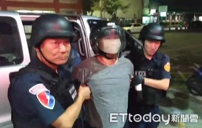 台南柳營殺警案梅文魁判19年2月