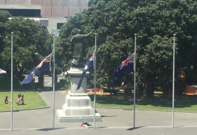 紐西蘭火山爆發5死 政府降半旗