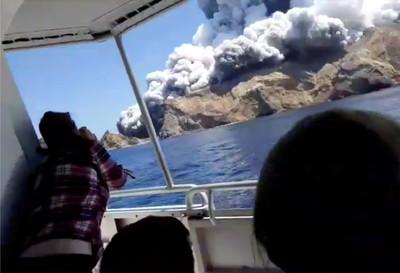 紐國火山爆發 倖存者還原爆發瞬間