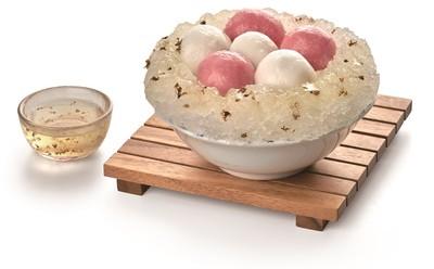 在家也能吃到「桂花蜜冰火湯圓」