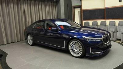 最速量產四門房車Alpina B7亮相!招牌細條紋彩繪極速飆330KM