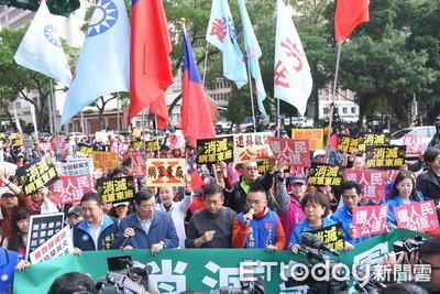 快訊/國民黨派5代表進行政院遞陳情書後提3點要求