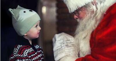 小孩許願...賣場聖誕老人:有洋蔥