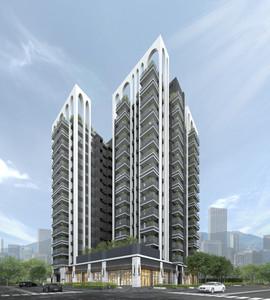 高雄建案獲世界級設計獎肯定 還沒開賣就成台灣之光