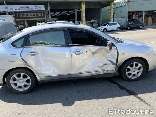 ▲▼林女騎乘機車與自小客駕駛馮男於環中路二段、廣福路口發生碰撞,不幸身亡。
