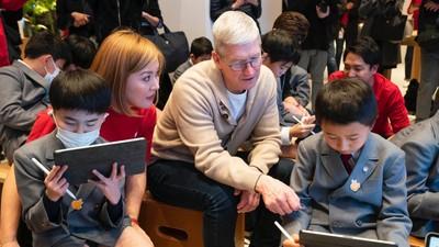 庫克訪日強調蘋果在全球找尋最佳供應商 最大貢獻將在醫療保健