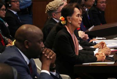 羅興亞人遭屠殺 翁山蘇姬替緬甸辯護