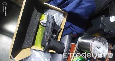 台南霹靂特警攔車查獲槍械