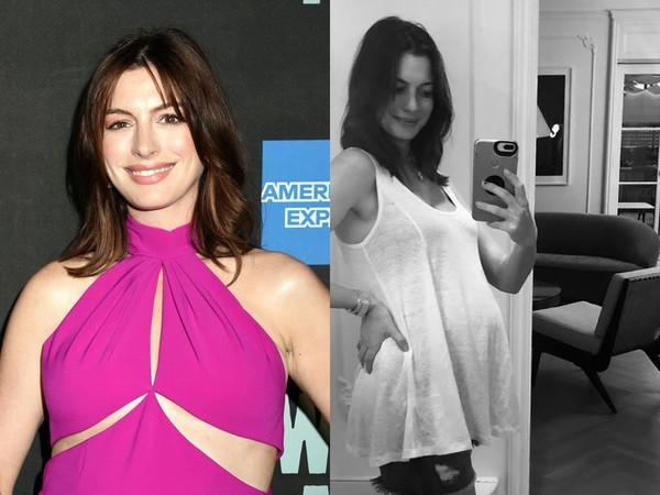 ▲▼安海瑟薇爆秘產二胎。(圖/達志影像/翻攝自Instagram/Anne Hathaway)