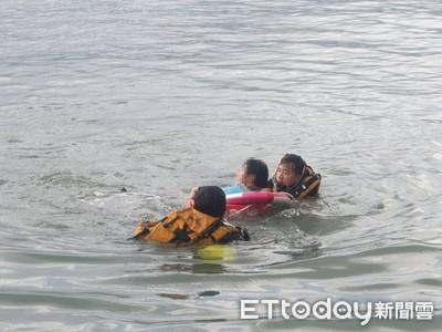 淡水河連三天3人落水 消防隊成功搭救