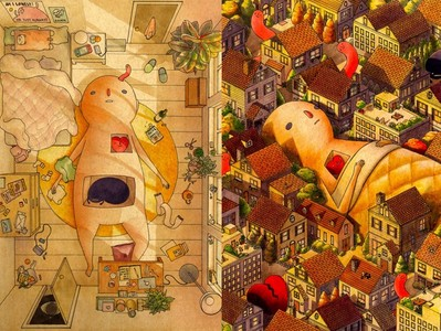 台灣插畫家筆下的一個人時光