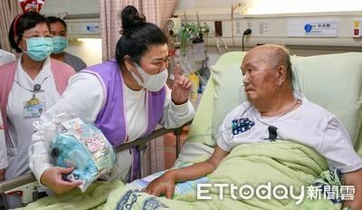 「臥病看天花板10幾年...」國民媽林美秀驚喜獻唱 癌友全樂翻