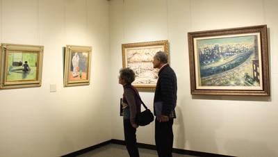一生不售畫 竹市文化局展何德來作品